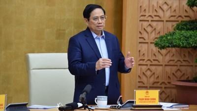 Thủ tướng Chính phủ Phạm Minh Chính: Không để lỡ nhịp phục hồi kinh tế
