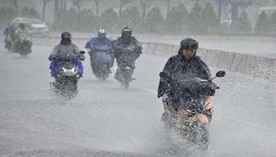 Đầu tuần, Hà Tĩnh, Quảng Bình mưa to, có nơi hơn 600 mm