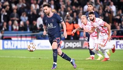 Messi lập cú đúp trong 7 phút, PSG hạ gục RB Leipzig