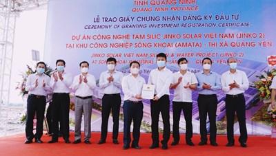 Quảng Ninh: Thu hút đầu tư nước ngoài 'vượt bão' Covid-19