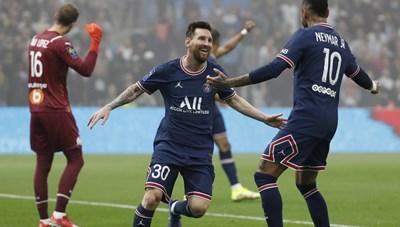 Messi im tiếng, PSG có trận hòa 'hú vía' trước Marseille