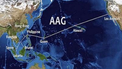 Cáp quang AAG tiếp tục gặp sự cố, Internet Việt Nam đi quốc tế lại bị ảnh hưởng