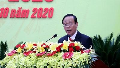 Ông Nguyễn Đức Thanh tái cử Bí thư Tỉnh ủy Ninh Thuận nhiệm kỳ 2020-2025