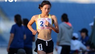 Giải Vô địch Điền kinh Quốc gia 2020: Nguyễn Thị Oanh giành HCV 5.000 m