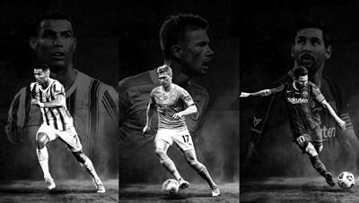 Top 10 cầu thủ xuất sắc nhất thế giới 2020: Ronaldo đứng sau Messi