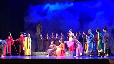 Kể chuyện Quan Âm Diệu Thiện trên sân khấu