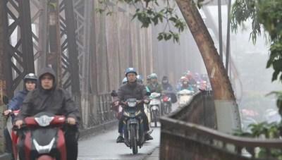 Hôm nay không khí lạnh tràn về, Đông Bắc Bộ có mưa rét