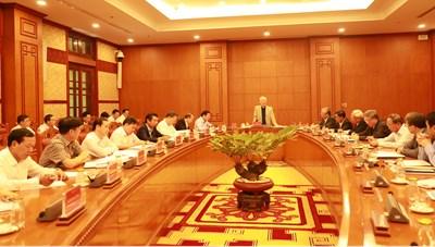 Tổng Bí thư, Chủ tịch nước chủ trì họp Ban Chỉ đạo T.Ư về phòng, chống tham nhũng