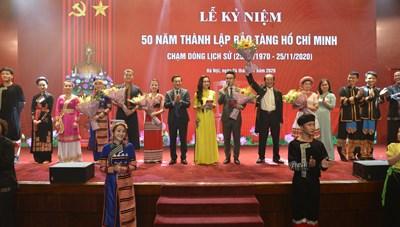 Bảo tàng Hồ Chí Minh kỷ niệm 50 năm thành lập