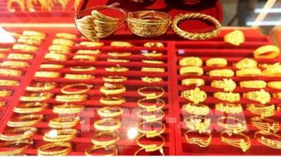 Sáng 1/12: Giá vàng giảm xuống dưới mốc 54 triệu đồng/lượng