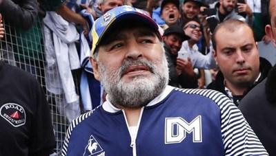 Maradona suy sụp và đã dự cảm xấu về cái chết của mình