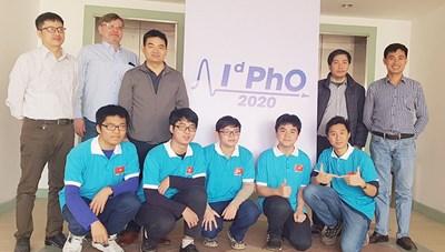 Việt Nam giành 5 huy chương Olympic Vật lý quốc tế