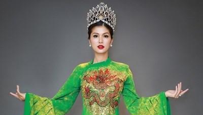 Cựu người mẫu Oanh Yến thi Mrs Universe