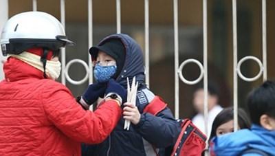 Học sinh Hà Nội không phải đến trường sớm nếu trời rét đậm
