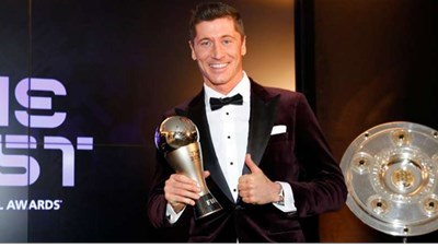 Lewandowski và HLV Klopp được vinh danh ở FIFA The Best 2020