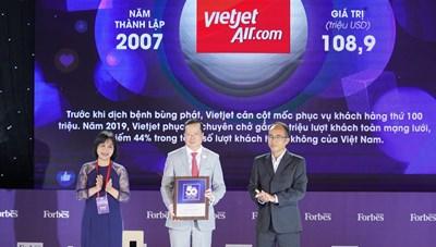 4 năm, giá trị thương hiệu của Vietjet tăng gần gấp đôi