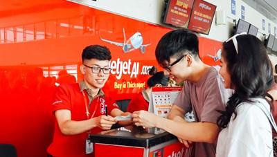 Vietjet đang bán 10 triệu vé bay nội địa giá chỉ 555 nghìn đồng
