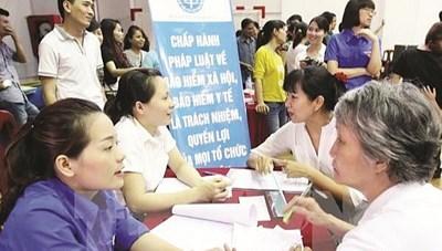Đẩy mạnh đối tượng tham gia bảo hiểm xã hội, bảo hiểm y tế