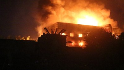 Hỏa hoạn tại bệnh viện điều trị Covid-19 ở Ai Cập khiến 7 người chết