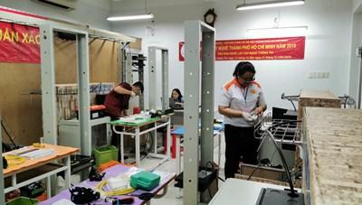 Học sinh trung học TP Hồ Chí Minh thi nghề vào tháng 7