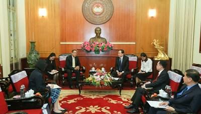 Thúc đẩy quan hệ Đối tác Chiến lược tăng cường Việt Nam - Thái Lan