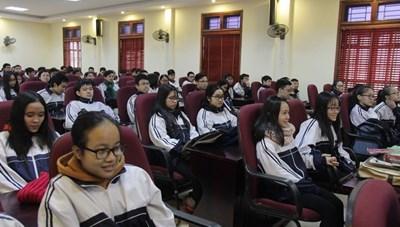 102 học sinh Nghệ An dự thi học sinh giỏi quốc gia 2018