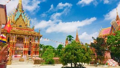 Độc đáo chùa Khmer Nam Bộ