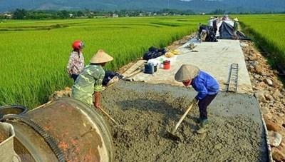 Thừa Thiên - Huế: Phấn đấu 59% xã đạt chuẩn nông thôn mới vào năm 2020