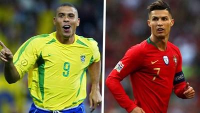 'C.Ronaldo chỉ có vài chiêu, Ronaldo người Brazil mới quái dị'