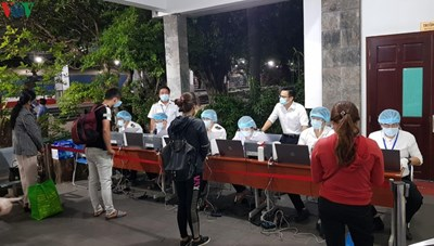 Ga Sài Gòn triển khai khai báo y tế điện tử