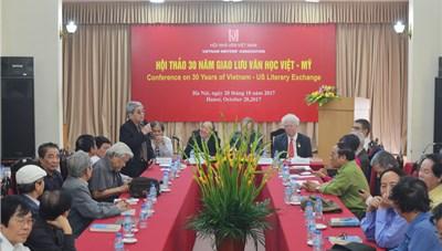 30 năm giao lưu văn học Việt - Mỹ