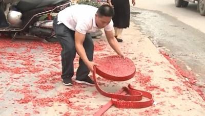 Khởi tố vụ đốt pháo mừng đám cưới ở Sóc Sơn