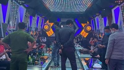 Thanh Hóa: Phát hiện 11 thanh niên tụ tập hát karaoke và sử dụng ma túy 