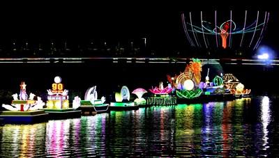 Đêm Hoa đăng Ninh Kiều lần III: Lung linh sắc màu