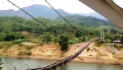 Thanh Hóa: Người dân mòn mỏi chờ cầu qua sông