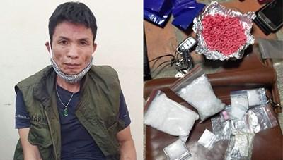 Hà Nội: Bắt đối tượng 2 tiền án tàng trữ hơn 1.000 viên ma túy và súng tự chế