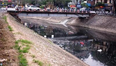 Khoan cống ngầm hồi sinh sông Tô Lịch