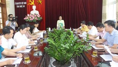 Nghệ An: Thành lập 4 đoàn giám sát thực hiện gói 62 nghìn tỷ
