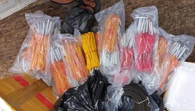 Quảng Ngãi: Phát hiện 2 thuyền trưởng tàu cá tàng trữ vật liệu nổ trái phép