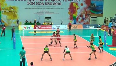 Khai mạc giải bóng chuyền nữ quốc tế VTV Cup Tôn Hoa Sen 2019