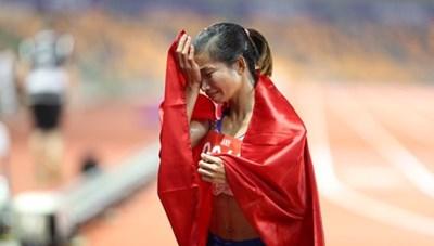 Nguyễn Thị Oanh giành 'hattrick Vàng,' phá kỷ lục SEA Games