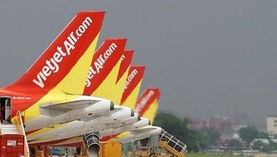 Vietjet Air tăng tần suất bay chặng Hà Nội - TP Hồ Chí Minh