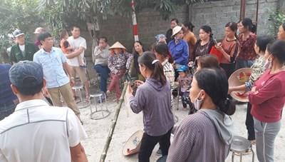 Lạng Sơn: Kiểm tra các hoạt động khai thác đá tại thôn Ba Nàng