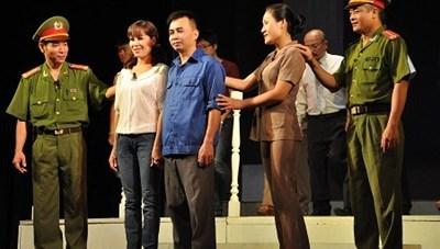 Liên hoan sân khấu về 'Hình tượng người chiến sĩ Công an Nhân dân'