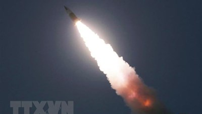 Quân đội Mỹ: Vụ Triều Tiên phóng tên lửa không phải 'mối đe dọa'