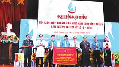 Bình Thuận: Đại hội đại biểu Hội Liên hiệp Thanh niên Việt Nam tỉnh lần thứ VI