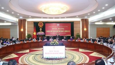 Những ý kiến tâm huyết tại Hội nghị Đoàn Chủ tịch UBTƯ MTTQ Việt Nam lần thứ nhất