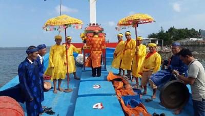 Quảng Nam: Lễ hội cầu ngư của người dân vùng biển Tam Quang
