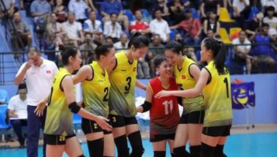 Đội tuyển bóng chuyền nữ Việt Nam dự SEA Games 30