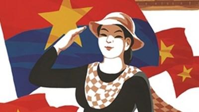Sáng tác tranh cổ động về 75 năm Cách mạng Tháng Tám và Quốc khánh 2-9